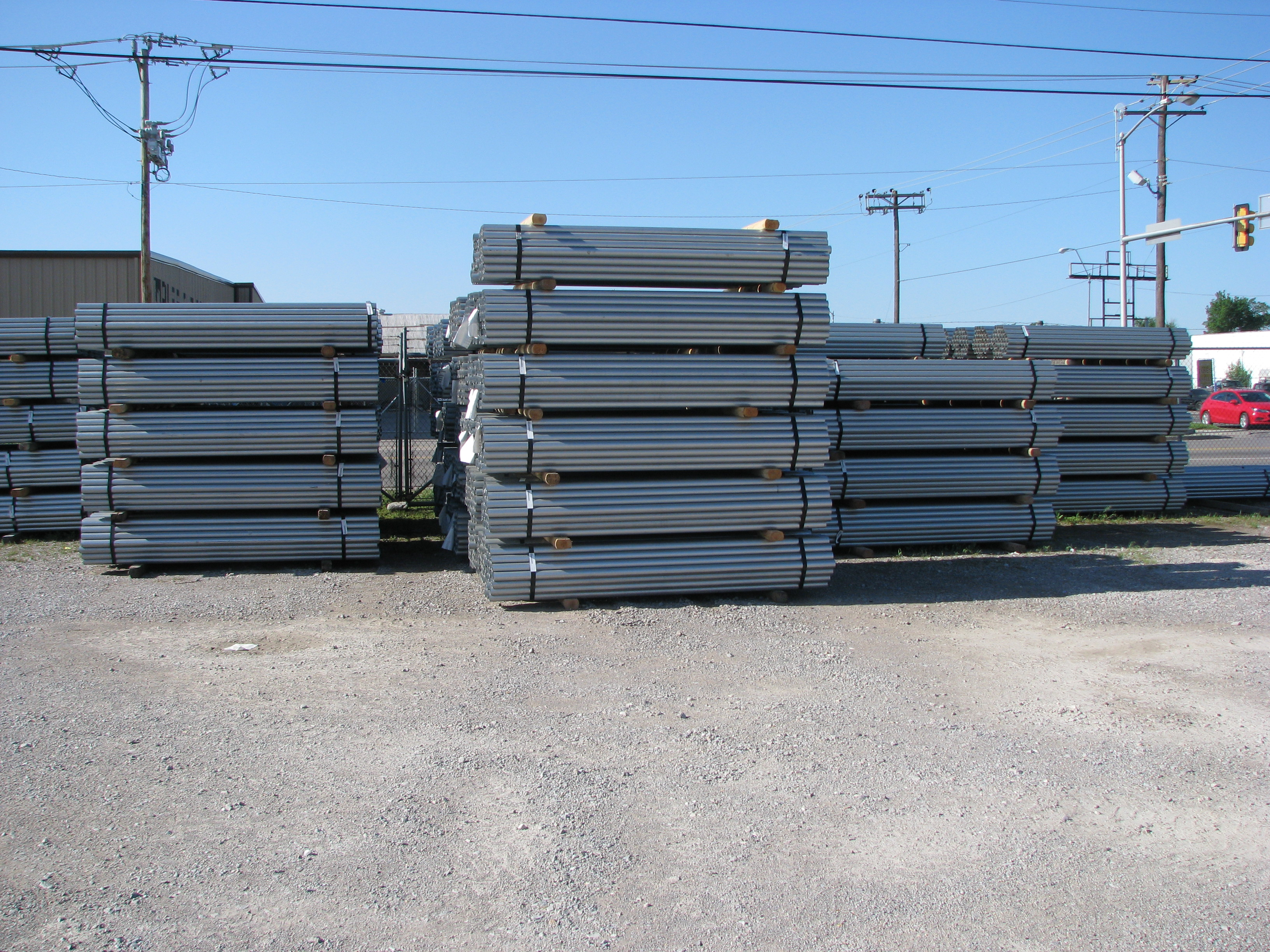 Fence Supplier Acme Fence In OKC Has Fence Posts.