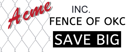 Acme Fence Is A Fence Supplier in Oklahoma City.