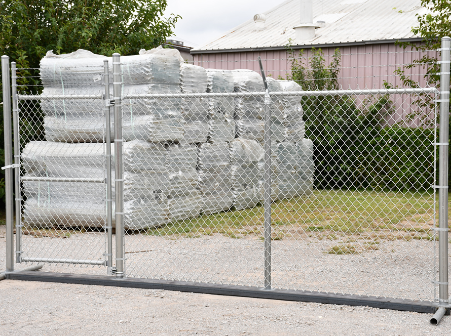 Get high-quality security fence like this from Acme Fence in Oklahoma.